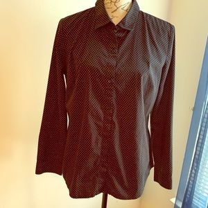 Apt.9 Button Down Top Large